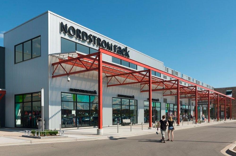 Nordstrom rack exterior shot