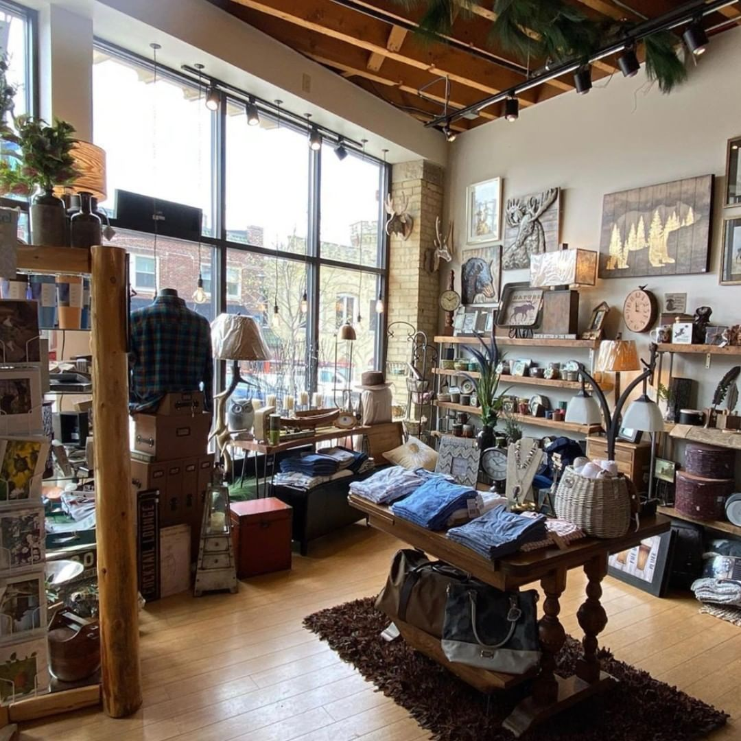 Interior of Flannel Fox boutique in Wauwatosa